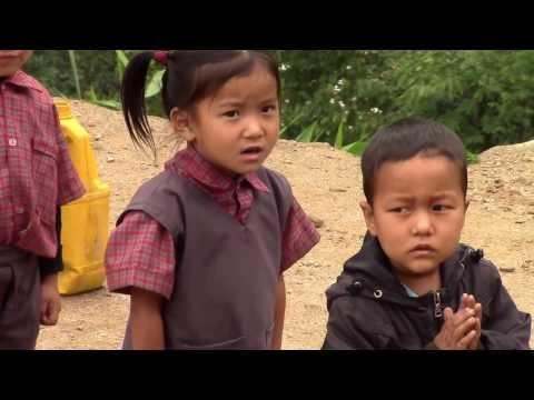 TRIBAL CHILDREN-DARJEELING DISTRICT REMOTE VILLAGE