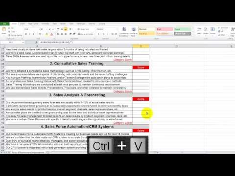Mod 3 - 9 Sales Effectiveness Radar Chart