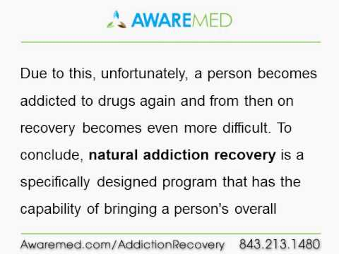 Natural Addiction Recovery -- The Right Way To Kick Out Addiction ...