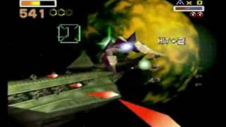 Star Fox 64 - Area 6 - 692 Hits