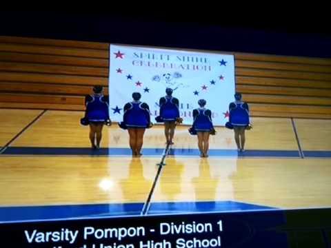 Spirit Shine Celebration State Championship: Redford Union High School Varsity Pompon 2017