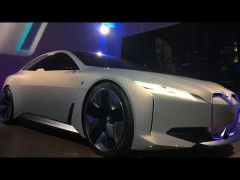 Adrian van Hooydonk BMW chief car designer previews the BMW i Vision Dynamics
