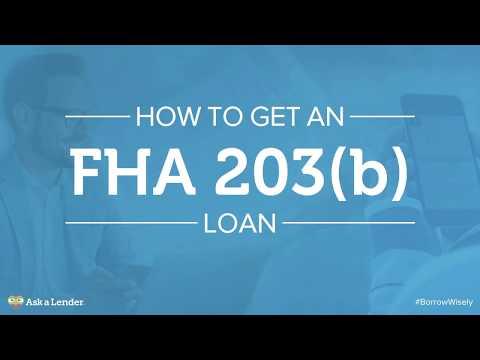 How to Get an FHA 203(b) Loan | Ask a Lender
