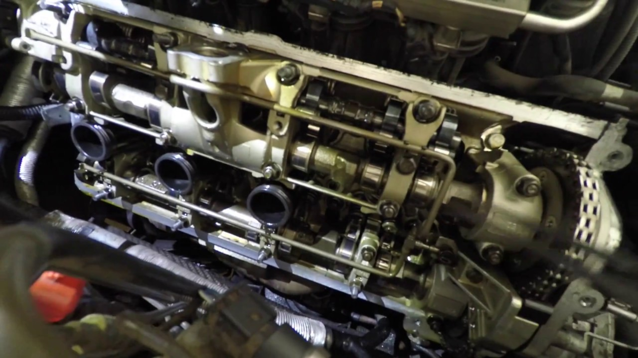 DIY Replace BMW E66 (750Li) N62 Engine Gasket without taking out the engine