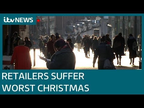 Retailers suffer worst Christmas in decade   ITV News