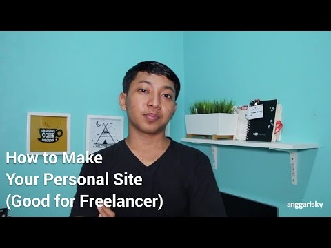 How to Make Your Personal Site is Live