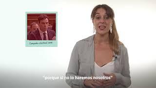 La amnistía fiscal, exigimos conocer la lista de defraudadores. Noelia Vera