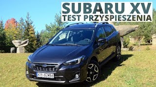 Subaru XV 2.0i 150 KM (AT) - acceleration 0-100 km/h