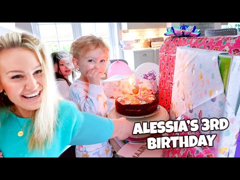 ALESSIA'S 3RD BIRTHDAY PARTY!