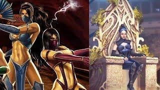 Mortal Kombat All Kitana Endings (MK1 to MK11) 1992 to 2019