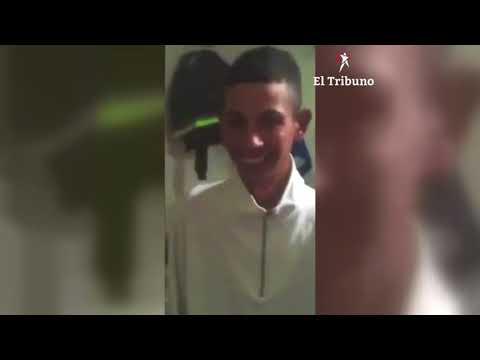 Mirá el video que grabó el acusado de asesinar al colectiverodesde la cárcel