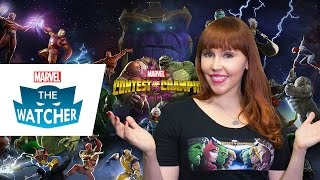 Win Marvel Contest of Champions - The Watcher 2014