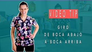 Giro de Boca Abajo a Boca Arriba