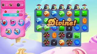 Candy Crush Saga Level 3361 NO BOOSTERS 8 moves