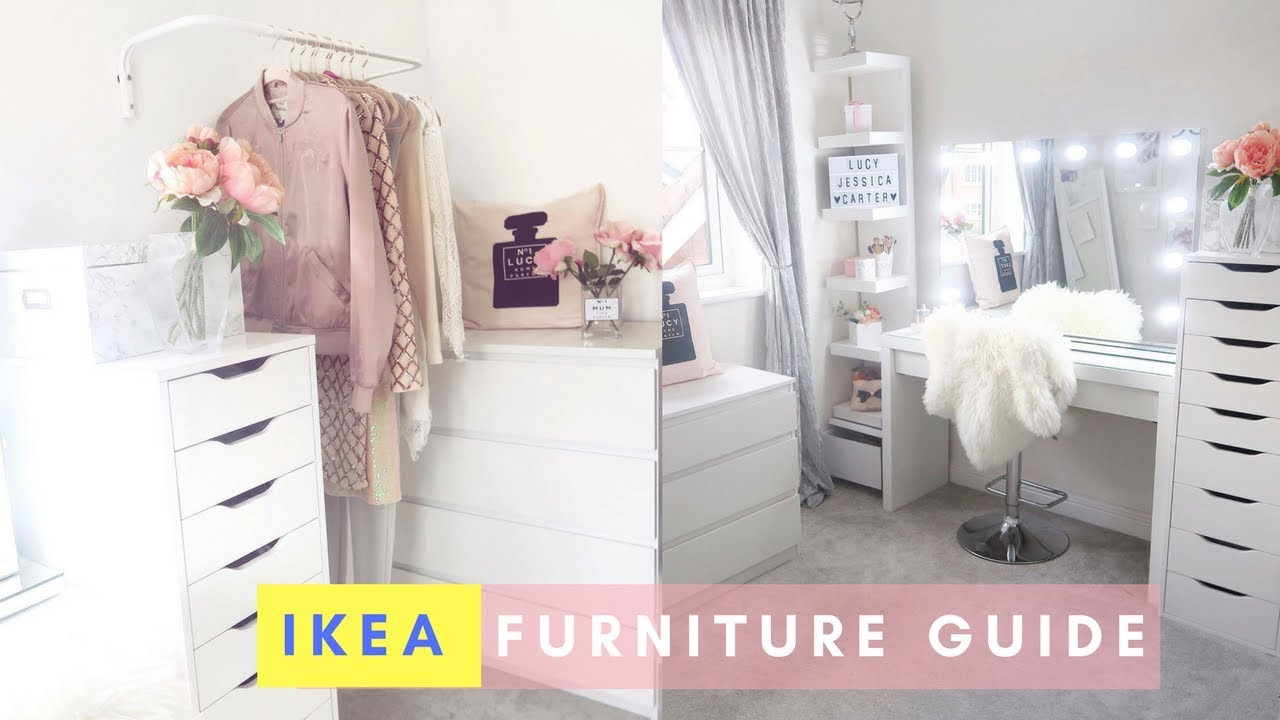 Ikea Malm Dressing Table Furniture Guide Lucy Jessica Carter Youtube