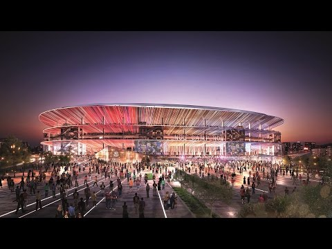 NEW CAMP NOU - A dream open to the world: this is what Barça's new Stadium will look like