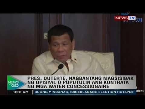 NTG: Pres. Duterte, nagbantang magsisibak ng opisyal o puputulin...