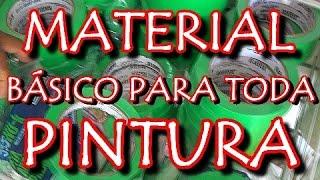 Pintura Automotiva - MATERIAL BÁSICO DE PINTURA AUTOMOTIVA