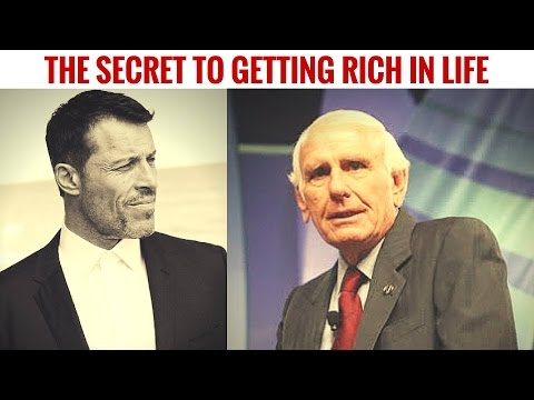 [NEW]Tony Robbins & Jim Rohn - The Secret to Getting Rich in Life