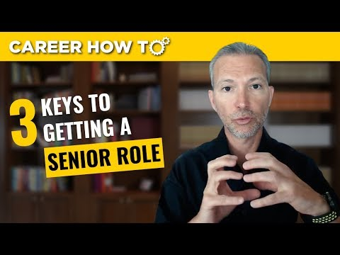 Executive Job Interview Tips: 3 Keys to Getting a Senior Rol