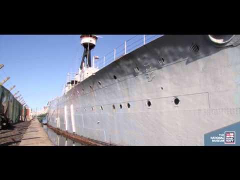 HMS Caroline paint research