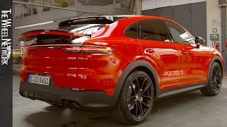 2020 Porsche Cayenne Coupe and Turbo Coupe  Studio Footage