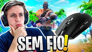 MOUSE GAMER SEM FIO VALE A PENA? - FORTNITE