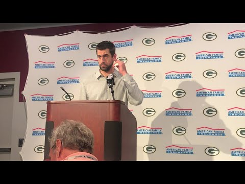 FULL VIDEO: What Aaron Rodgers had to say after loss to Falcons