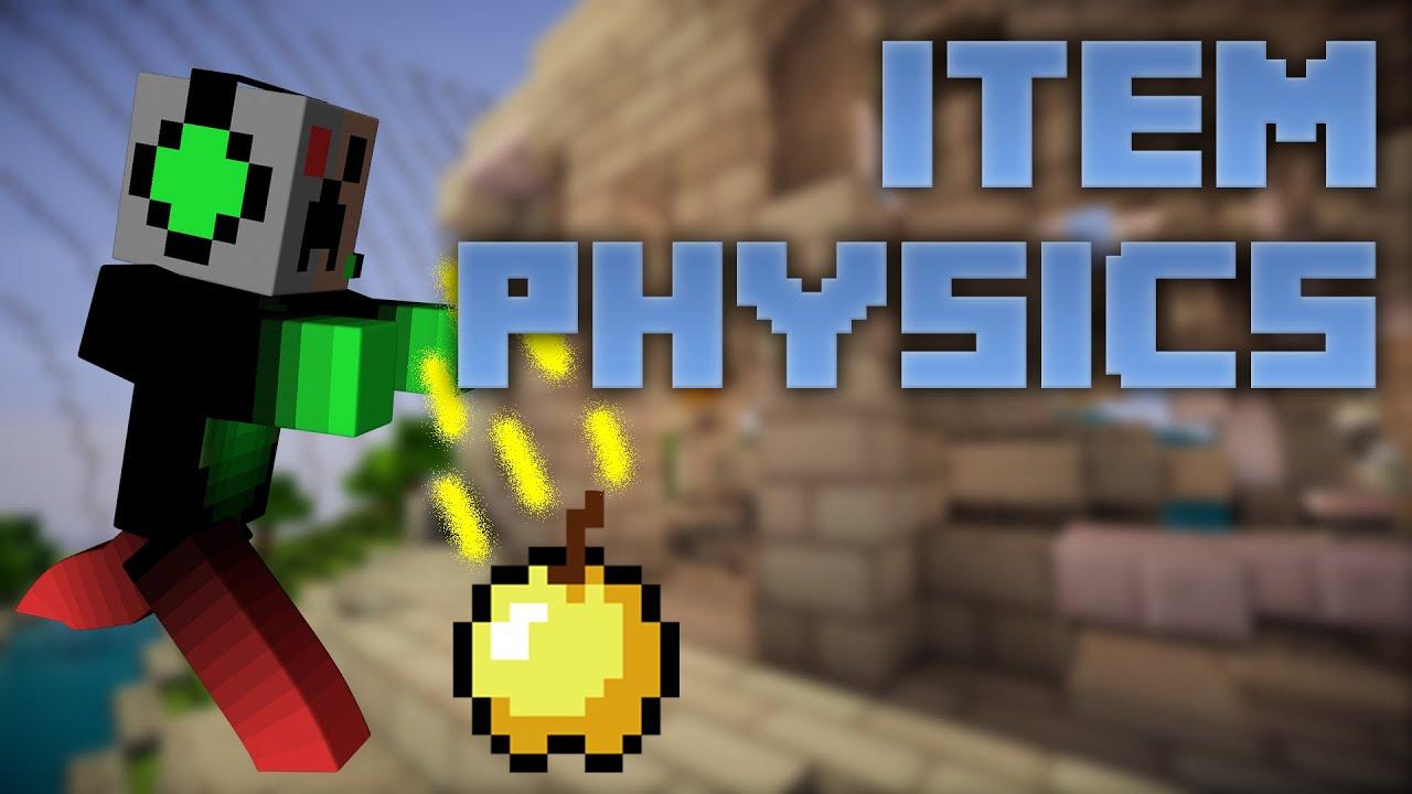 item physics mod 1.8