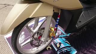 Modifikasi Honda Vario 110 LED Simple Babylooks