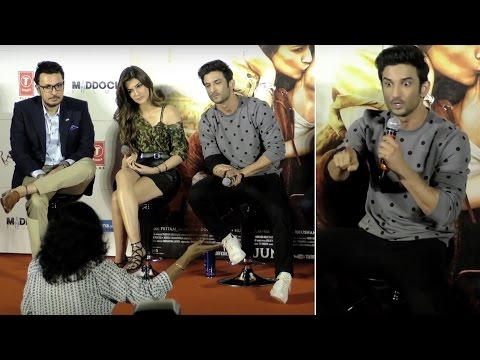 Thumbnail: Sushant Singh Rajput gets ANGRY at Raabta Trailer Launch | VIDEO