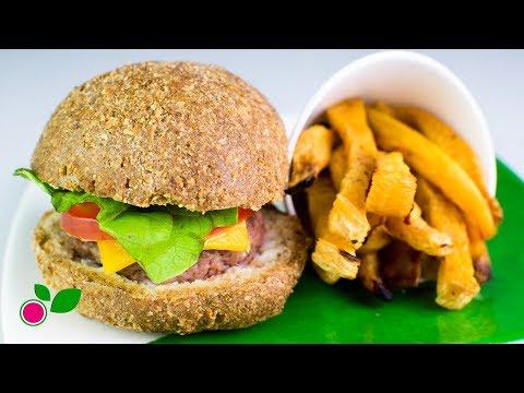 🍔🍟 Burguer Buns & Chips | Low Carb | Yo +Green