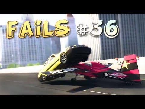 Racing Games FAILS Compilation #36
