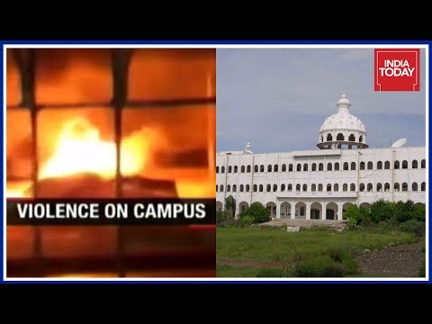 Violence Breaks Out Over Student Suicide In Sathyabama University, Chennai