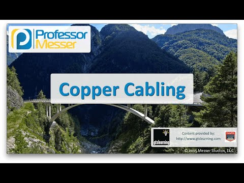 Descargar Video Copper Cabling - CompTIA Network+ N10-006 - 1.5