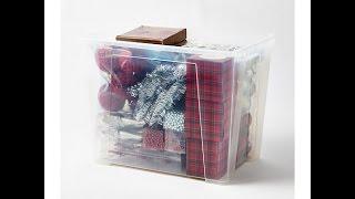 видео Ящики для хранения вещей