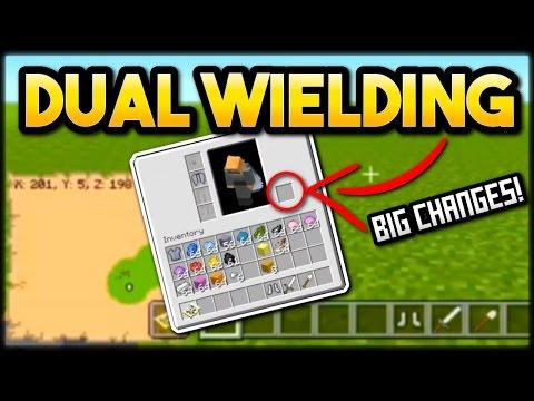 Minecraft TU53 DUAL WIELDING HUGE CHANGES! GOOD OR BAD? PS4 & XBOX UPDATE