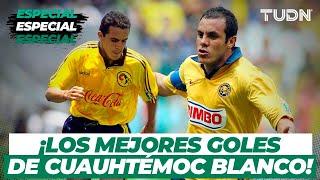 ¡Inolvidables! El primer y mejores goles del 'Cuauh' en su carrera con América | TUDN
