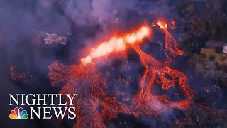 Hawaii Volcano Erupts, Launching Ash And Smoke 30,000 Feet High | NBC Nightly News