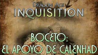 Dragon Age: Inquisition - Guía [1080p] / Boceto: El Apoyo de Calenhad - Receta: Armadura de roca