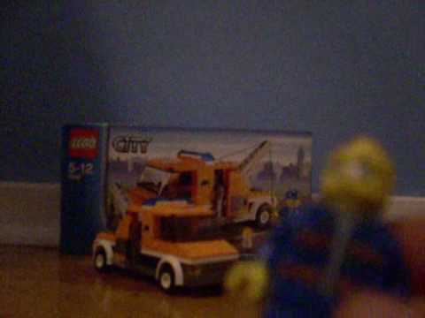 Lego City Tow Truck Review Set 7638 - YouTube
