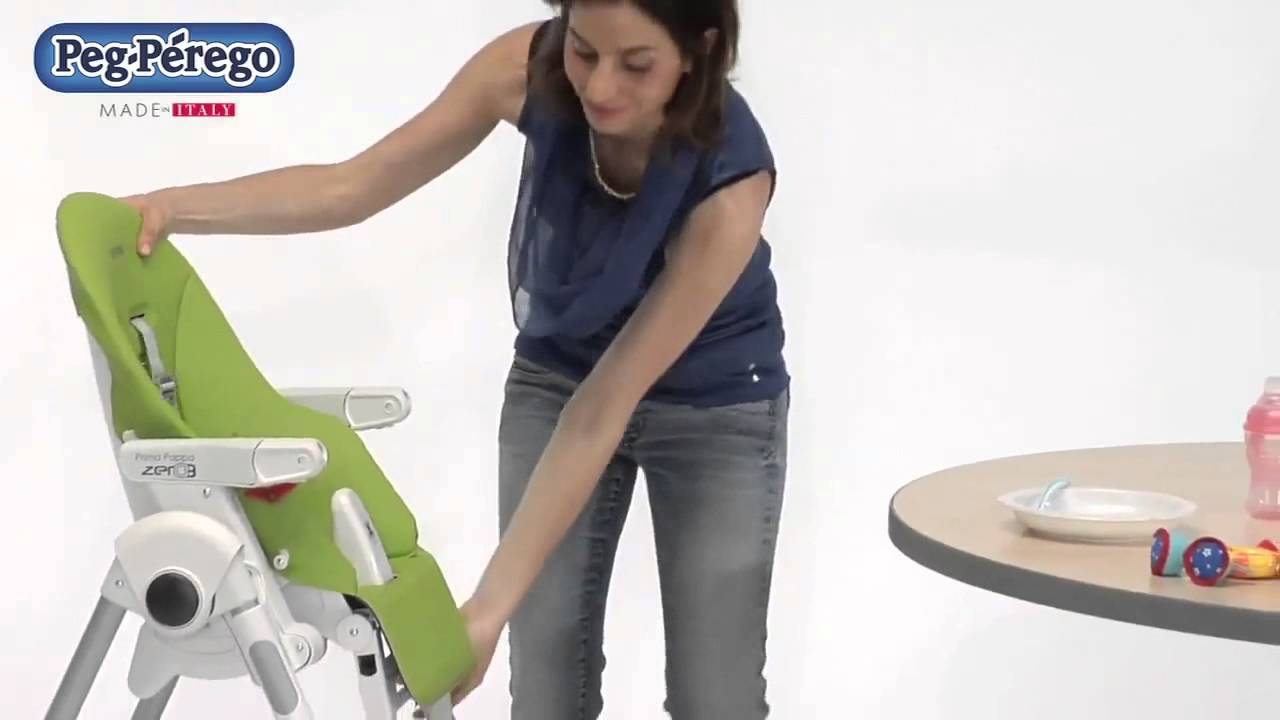 2011 High Chair - Peg Perego Prima Pappa Best - Official Video .