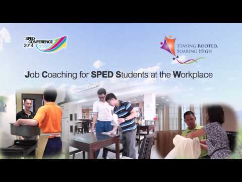 SPED Conference 2014: School-to-Work Transition Programme
