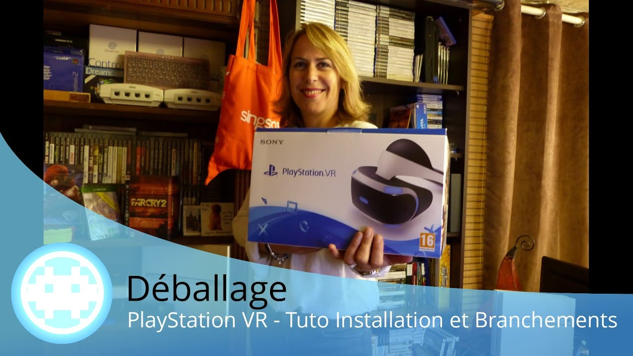 tuto playstation vr contenu installation c blage du casque ps4 youtube. Black Bedroom Furniture Sets. Home Design Ideas