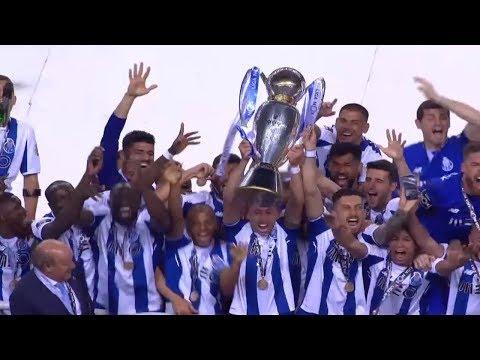 FC Porto: Entrega do troféu de campeão 2017/2018