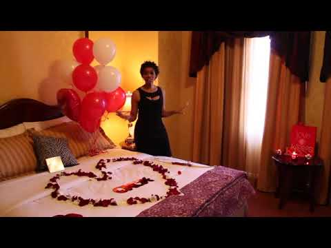 Romantic Ways To Decorate A Hotel Room On Valentine S Day For Your Boyfriend Youtube