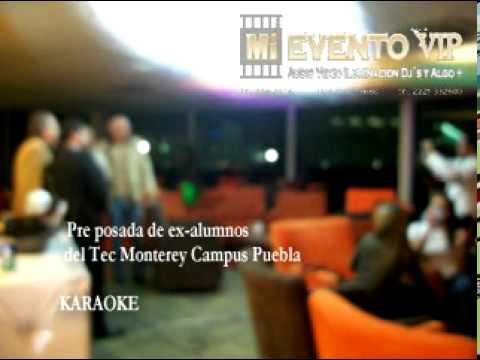 karaoke  Tec de Monterrey Campus Puebla.mpg