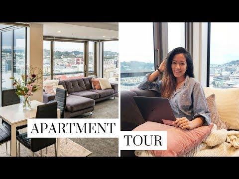 Apartment Tour || 2018 Wellington NZ