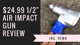 $24 99 1/2 Inch Air Impact Wrench Review by Campbell Hausfeld