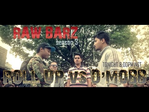 Roll Up Vs D Mobb - Raw Barz Season 3, Episode 1 (Rap Battle)